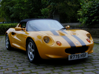 365 1998 lotus elise s1 norfolk yellow icon