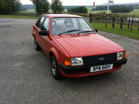 367 1982 ford escort mk3 1.1 l icon