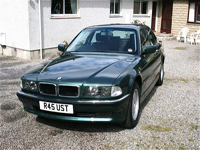 371 1997 bmw 728i auto green icon