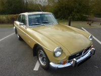 390 1973 mgb gt v8 factory car number 23 icon