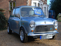 4 1987 austin mini mayfair icon