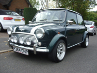 424 1996 rover mini cooper reg 1.3i icon