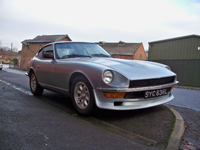 460 1973 datsun 240z historic rally icon
