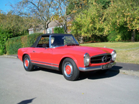 474 1967 mercedes 250sl pagoda roadster classic car icon