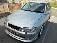 484 2001 vauxhall vectra gsi v6 silver icon