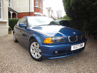 50 1999 bmw 318 ci auto blue e46 318ci icon