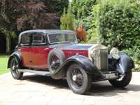 502 1930 rolls royce phantom ii sports saloon icon