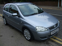 506 2004 54 plate vauxhall corsa 1.4i design automatic icon
