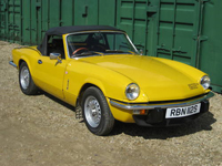52 1977 triumph spitfire 1500 yellow icon