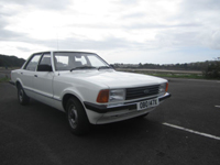 522 1982 ford cortina l white mk5 1.6 icon