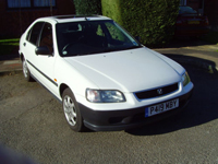 524 1997 honda civic 1.4i automatic icon