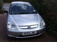 570 2003 honda civic 1.6i vtec inspire s icon