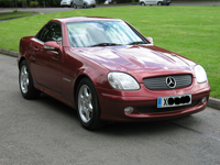 583 2000 x mercedes benz slk200k auto icon