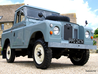 586 1971 late series 2a land rover swb truck cab icon