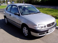 59 2000 toyota corolla 1.4 vida ltd edition icon