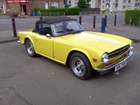 593 1973 triumph tr6 yellow fuel injection manual overdrive icon