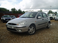 596 2001 ford focus 1.6i 16v auto zetec 5dr icon