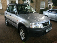 599 2001 honda cr-v special edition 4wd icon