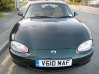 60 mazda mx5 1.8 se ltd edition leather hard top icon
