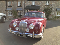 609 1965 daimler v8 250 regency red icon