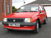 61 1982 vauxhall nova 1.2 flair icon