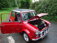 610 2000 rover mini cooper sport multi coloured icon