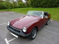 71 1977 mg midget damask red icon