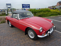 81 1975 mgb roadster 5 tartan red icon