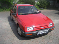 84 1984 ford sierra gl red icon