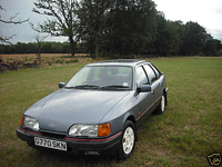 85 1990 ford sierra gls 2.9l 4x4 grey icon