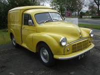 89 1955 morris minor split screen van icon