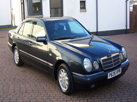 666 1996 mercedes e230 elegance saloon icon
