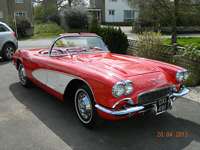 731 1961 Chevrolet Corvette C1 Icon