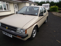733 1983 Datsun Nissan Cherry 1.3 GL Icon