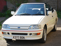 745 1992 Ford Escort Mk5 XR3i Convertible Icon