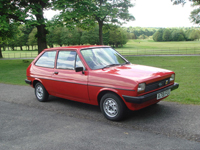 746 1983 Ford Fiesta Mk1 957cc Popular Plus Icon