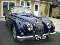 753 1959 Jaguar XK 150 FHC Icon