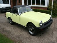 759 1977 MG Midget 1500 Icon