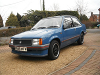 780 1988 Vauxhall Nova 1.2 Merit Icon