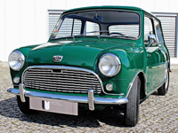 804 1962 Austin Mini Super Seven Icon