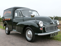 806 1971 Austin Morris Minor 6 CWT Van Icon