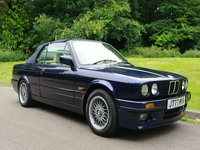 813 1991 BMW E30 325i Motorsport Convertible Icon