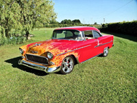 821 1955 Chevrolet Bel Air 2nd Gen Restomod Icon