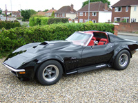 824 1971 Chevrolet Corvette Sting Ray Restomod Icon