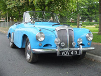831 1956 Daimler Drophead Coupe Icon