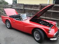 833 1961 Daimler SP250 B Spec Icon