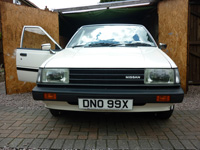 837 1982 Datsun Sunny B11 1.5 DX Estate Icon