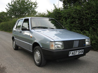 851 1988 Fiat Uno 60 Super Icon