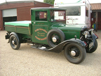852 1935 Ford BF Pickup Truck Icon