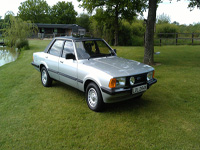 862 1982 Ford Cortina MK5 2.0 GL Icon